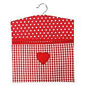 Rushbrookes Vintage Claret Peg Bag 16150298