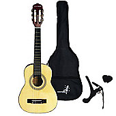 Rocket XF Series 1/2 Classical Spanish Guitar Pack