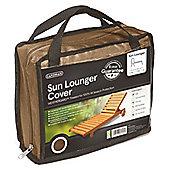 Gardman Sun Lounger Cover- Brown