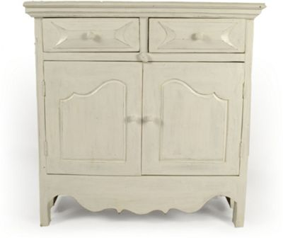 Papa Theo Double Toy Cabinet - Antique White