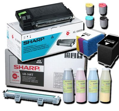 Sharp AR270T Ink Toner Cartridge - Black
