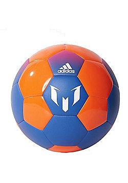 adidas Messi Q2 Football - Blue/Sorange - Blue