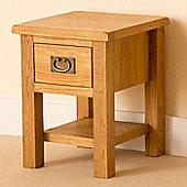 Lanner Lamp Table - Rustic Oak