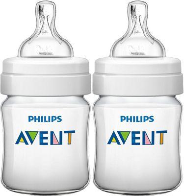 Avent Classic+ Feeding Bottle 125ml - 2 pack