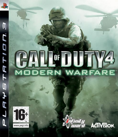 Call of Duty 4: Modern Warfare 1 Platinum