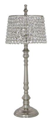 63.5cm Round Crystal Lamp around Shade