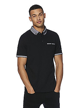 F&F Premium Polo Shirt - Black