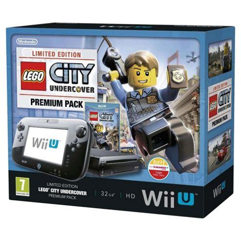Wii U Premium Pack Lego City Undercover