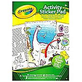 Crayola Activity Sticker Pad