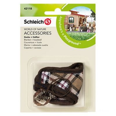 Schleich Blanket and headstall