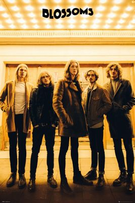 Blossoms Band Poster 61x91.5cm