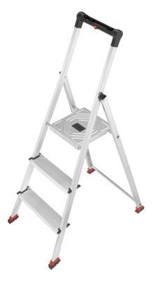 Hailo 237cm ParkettLine L65P Safety Household Ladder