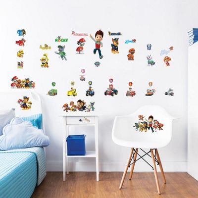 Paw Patrol Wall Stickers - Pack of 41