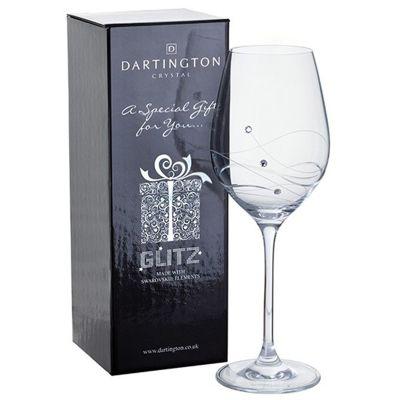 Dartington Crystal Glitz Wine Glass (SINGLE)