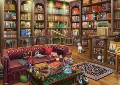 The Reading Room - 1000pc Puzzle