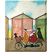 Sam Toft There may be Better Ways to Spend an Afternoon. Canvas Print 40x50cm
