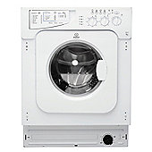 Indesit Integrated IWME 127 UK 7kg, 1200rpm Washing Machine - White