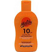 Malibu Sun Lotion SPF10 Low Protection 200ml Lotion