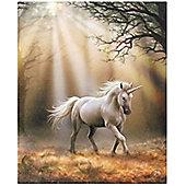 Glimpse, Unicorn Canvas Art