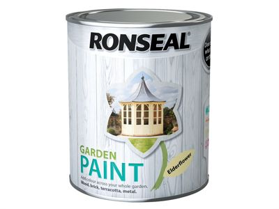 Ronseal Garden Paint Elderflower 750ml