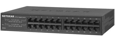 Netgear GS324-100EUS 24-Port Gigabit Ethernet Desktop/Rackmount Unmanaged Switch