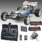 Tamiya Neo Fighter 2Wd Buggy Rc Car Deal Bundle. Radio 2X Battery, Charger 58587