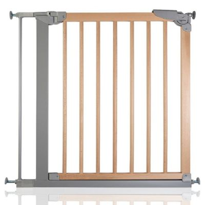 Safetots Wide Walkthrough Wooden Gate 75.4 - 82.6cm