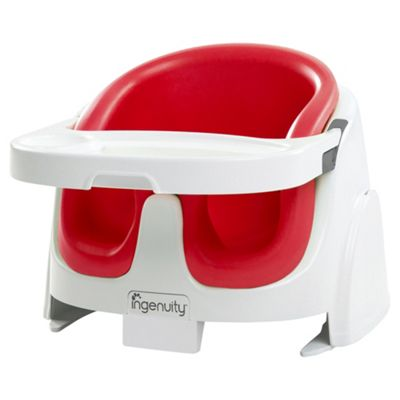 Buy Ingenuity Feeding Booster Seat, Poppy red from our ...