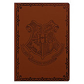 Harry Potter Hogwarts Flexi Cover A5 Notebook, Brown