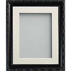 Frame Company Brompton Black 20x16 Frame With 15x10 Ivory Mount