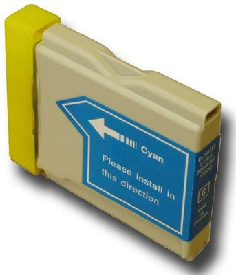 The Ink Squid Brother LC1000 C Compatible Ink Cartridge Cyan