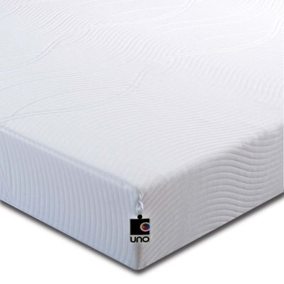 Breasley UNO Vitality Plus HD Memory Foam Mattress with Removable Cover - Single