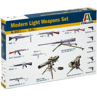 Italeri 6421 Moderm Light Weapon Set 1:35 Military Model Kit