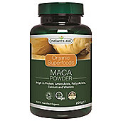 Natures Aid Organic Maca Powder - 200g