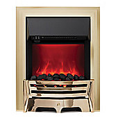 Mayfair 2kW Inset Electric Fire - Brass