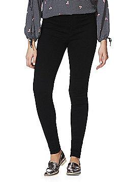 JDY High Rise Skinny Jeans - Black