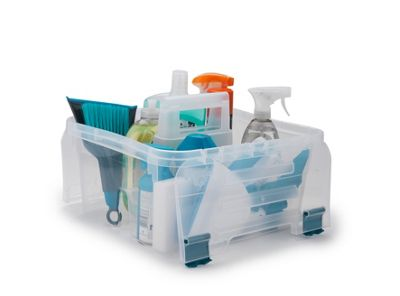 Beldray Small Caddy Clear
