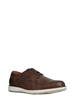 F&F Wedge Sole Lace-Up Shoes - Brown