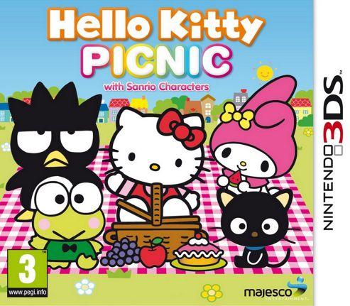 Hello Kitty Picnic 3Ds