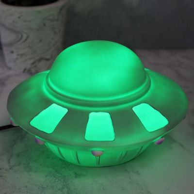 Spaceship Colour Changing Lamp