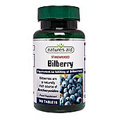 Natures Aid Bilberry 50mg - 90 Tablets