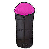 Deluxe Footmuff To Fit Out And About Nipper Single 360 Pushchair Pink