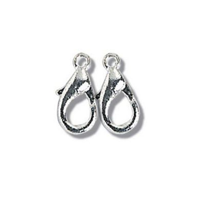 Impex Lobster Claw Clasps Silver 10mm