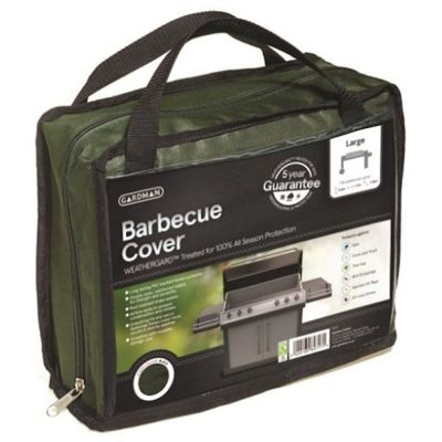 gardman large barbecue cover green - Bbq Covers