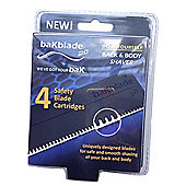 BaKblade 2.0 Replacement Blades - 4-Pack