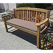 Three Seater Bench Cushion Dove Grey