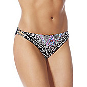 F&F Aztec Print Narrow Bikini Briefs - Multi