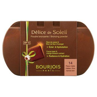 Bourjois Delice De Solaire Comp Powder Dark T14