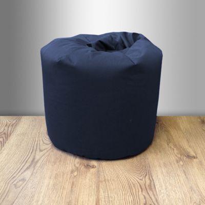 Children's 100% Cotton Twill Pre-Filled Bean Bag - Navy