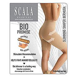 323a0dc98948d Scala Shapewear Bio Promise Slimming Shaper Bermuda Extra Large